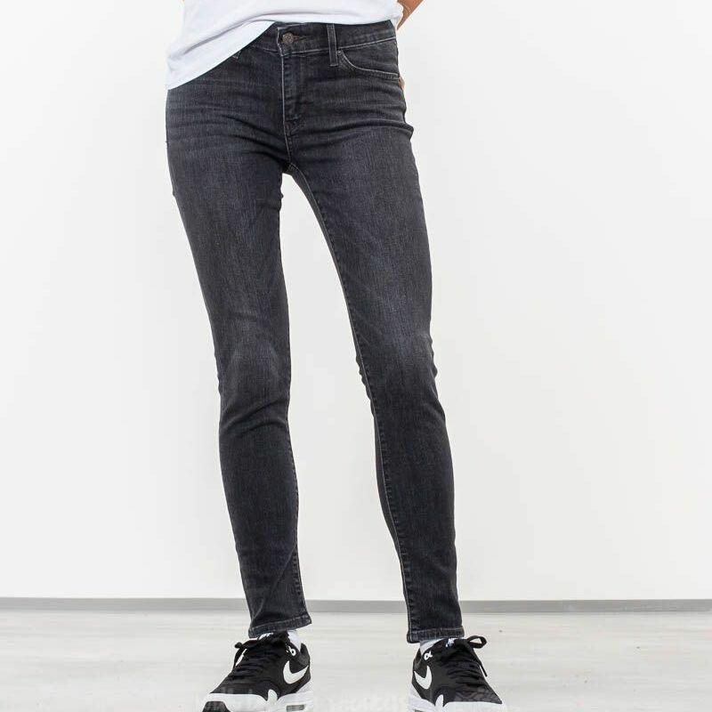 Levi's® 711 Skinny Jeans Cassette Black, Gray