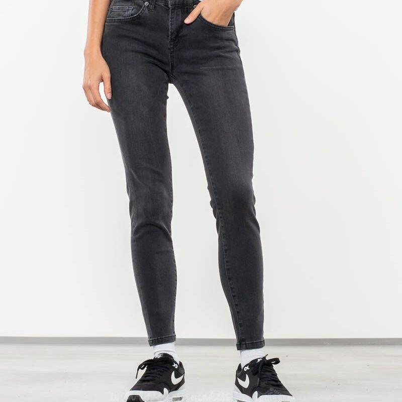 SELECTED Ida Cropped Jeans Grey Denim