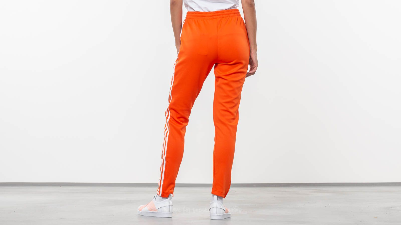 online store 49300 71b6d adidas Originals SST Track Pants Orange at a great price 59 € buy at  Footshop