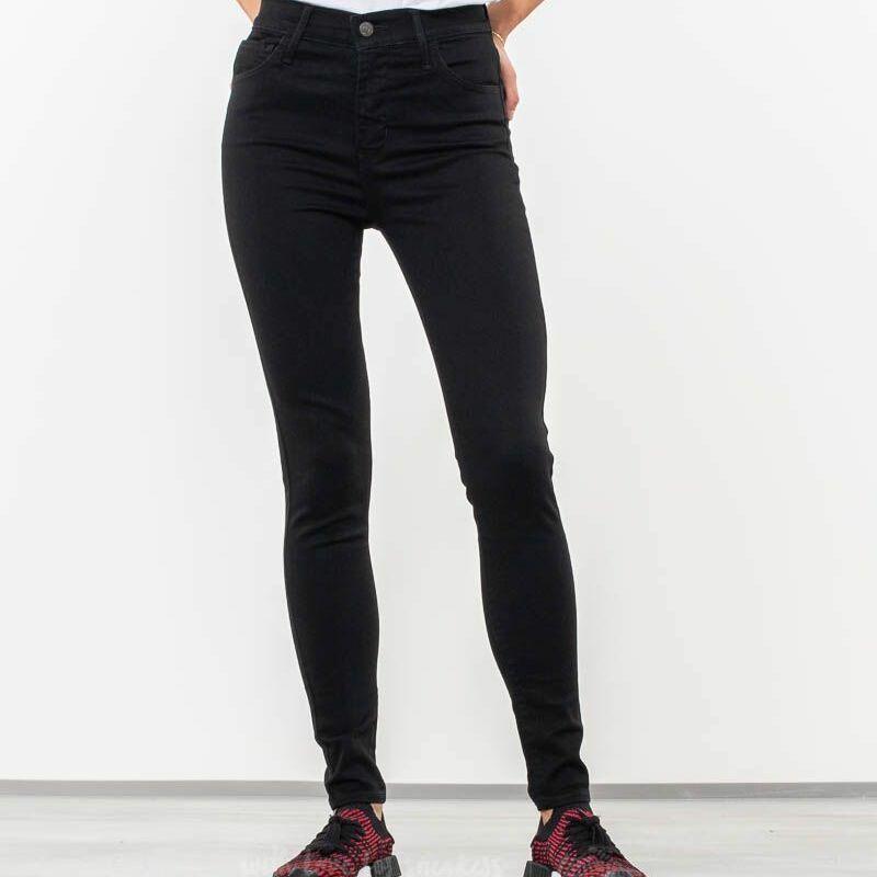 Levi's® 720™ High-Rise Super Skinny Jeans Black Galaxy
