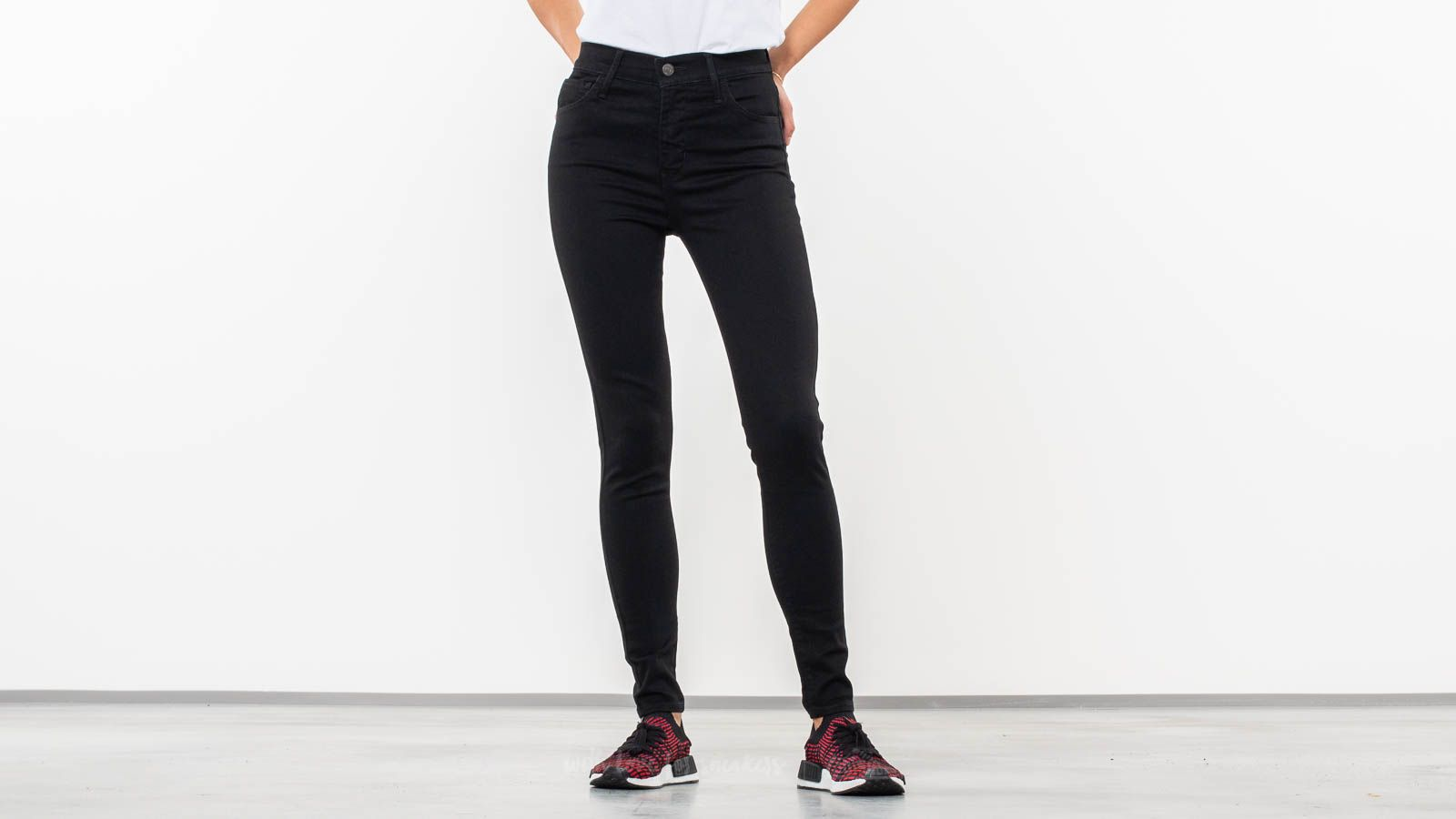 e4227c1afc4 Levi s® 720™ High-Rise Super Skinny Jeans Black Galaxy at a great price