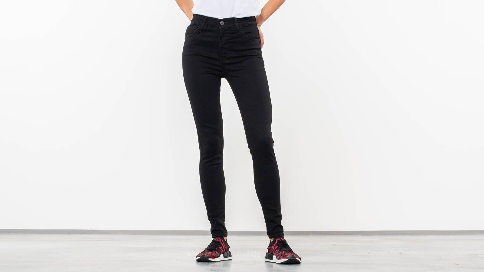 e665c9397ac Levi's® 720™ High-Rise Super Skinny Jeans Black Galaxy | Footshop