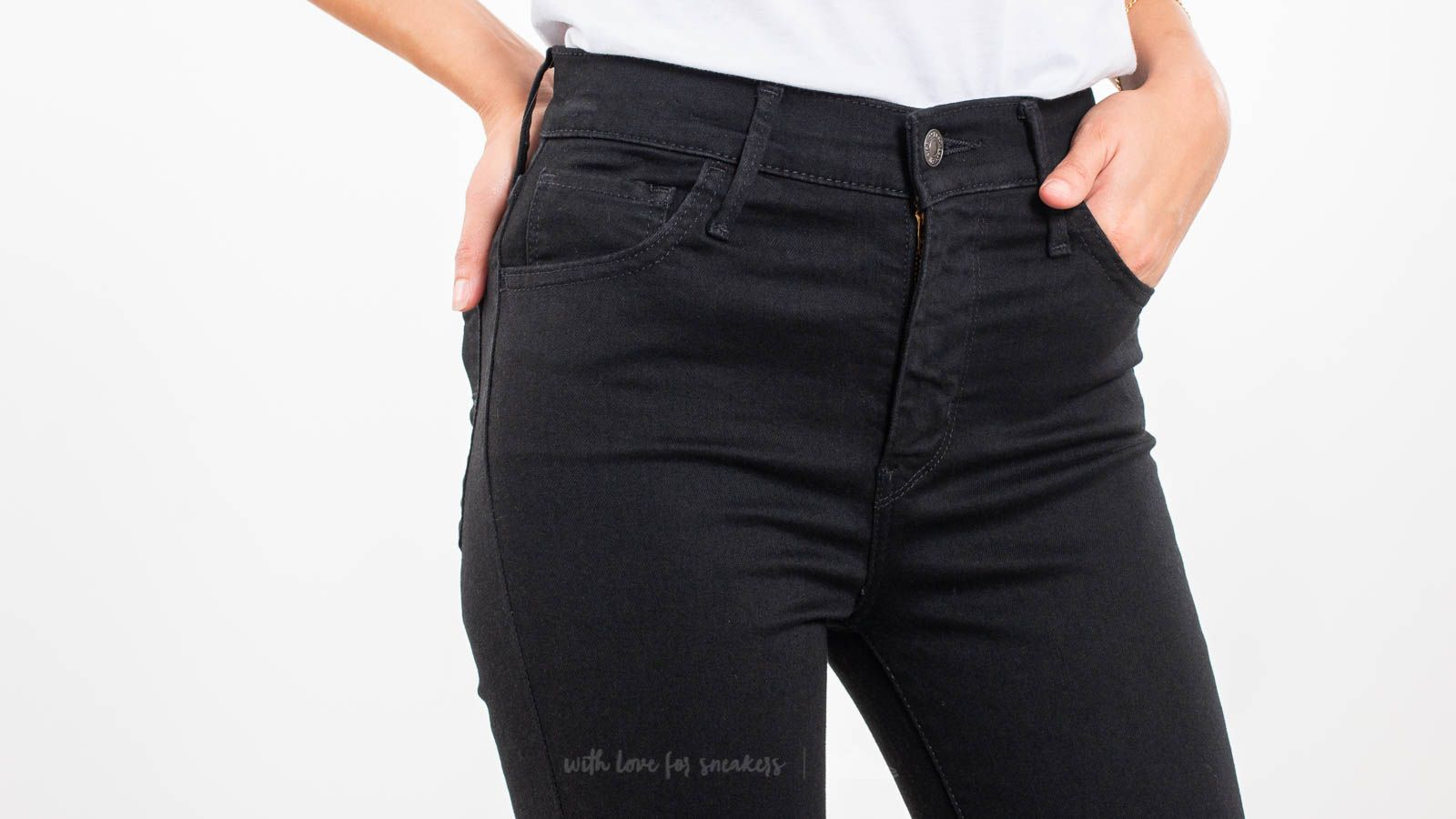 6c6c550193a Levi's® 720™ High-Rise Super Skinny Jeans Black Galaxy at a great price