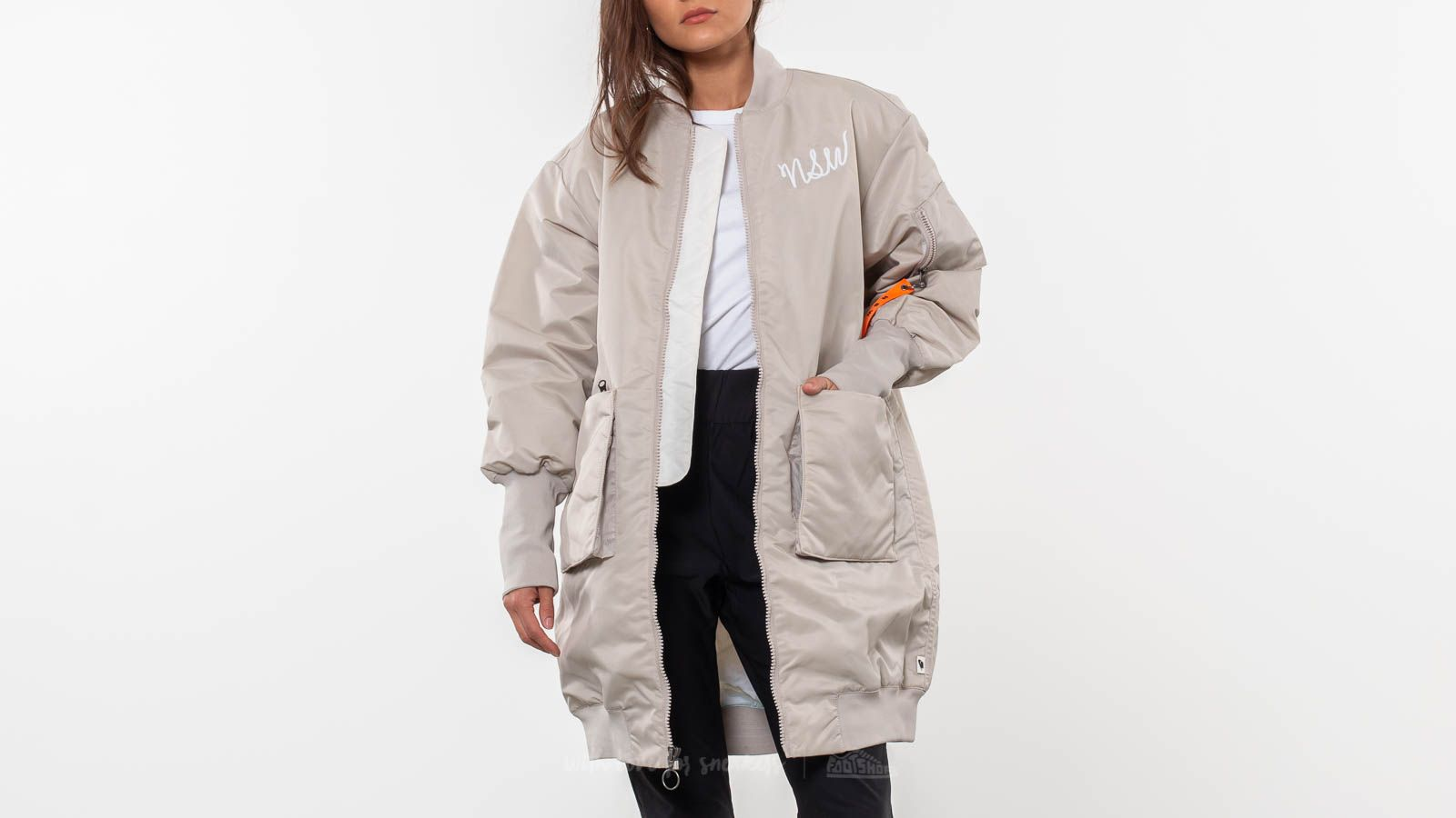 Nike Sportswear Insulated Parka String  White at a great price 114 € buy at  Footshop a7b90889fb