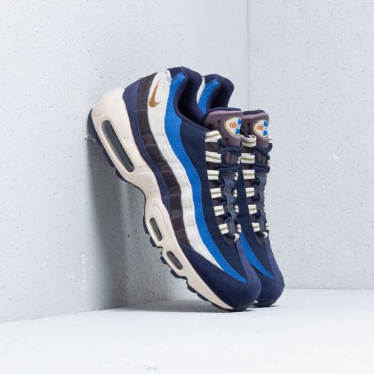 brand new 1ded6 96811 Nike Air Max 95 Premium Blackened Blue/ Camper Green ...