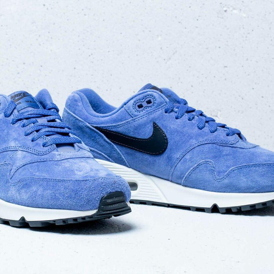 Nike Air Max 90/1 Purple Basalt/ Anthracite, Blue