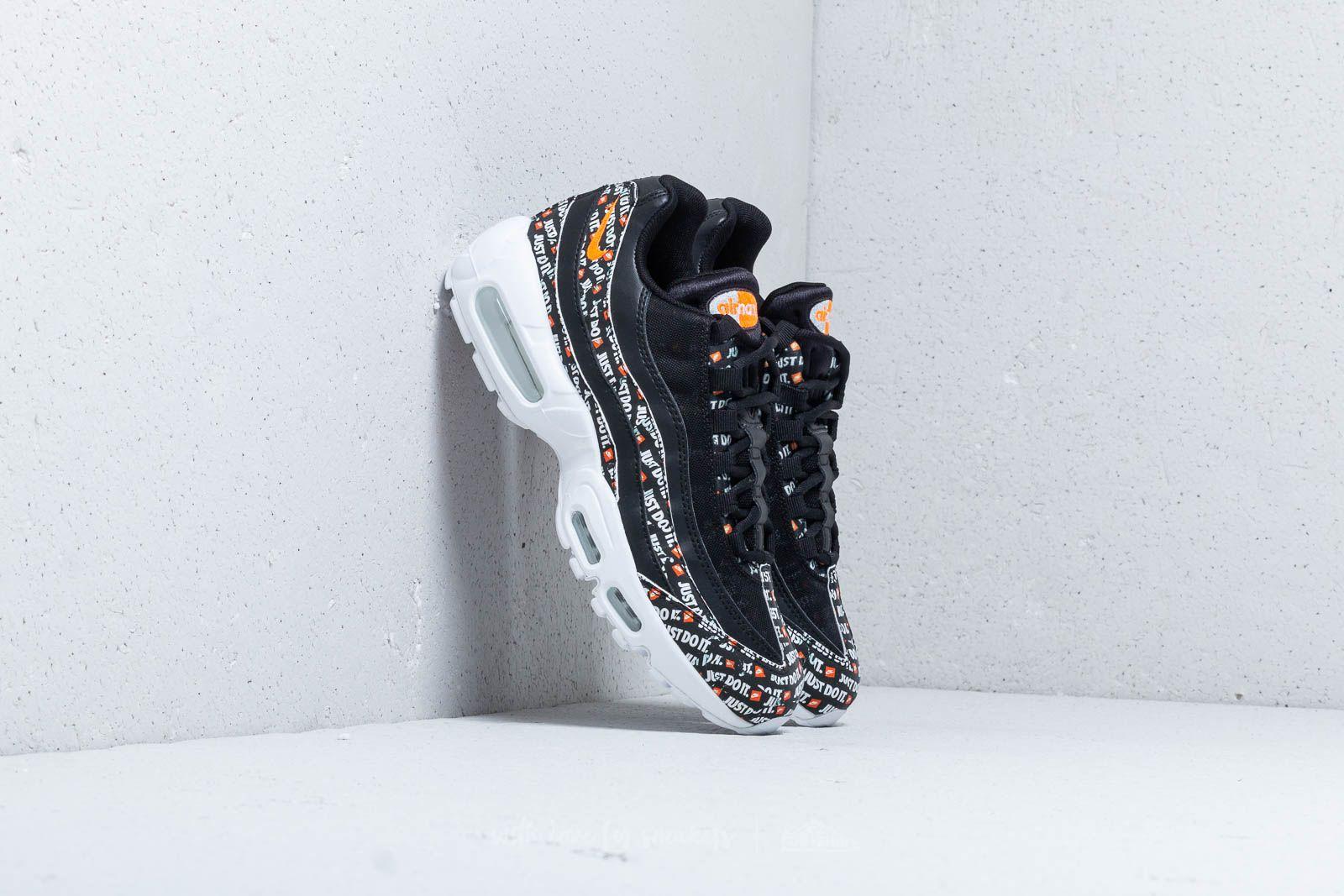 best website edfe3 376ef Nike Air Max 95 SE Black  Black-White-Total Orange at a great