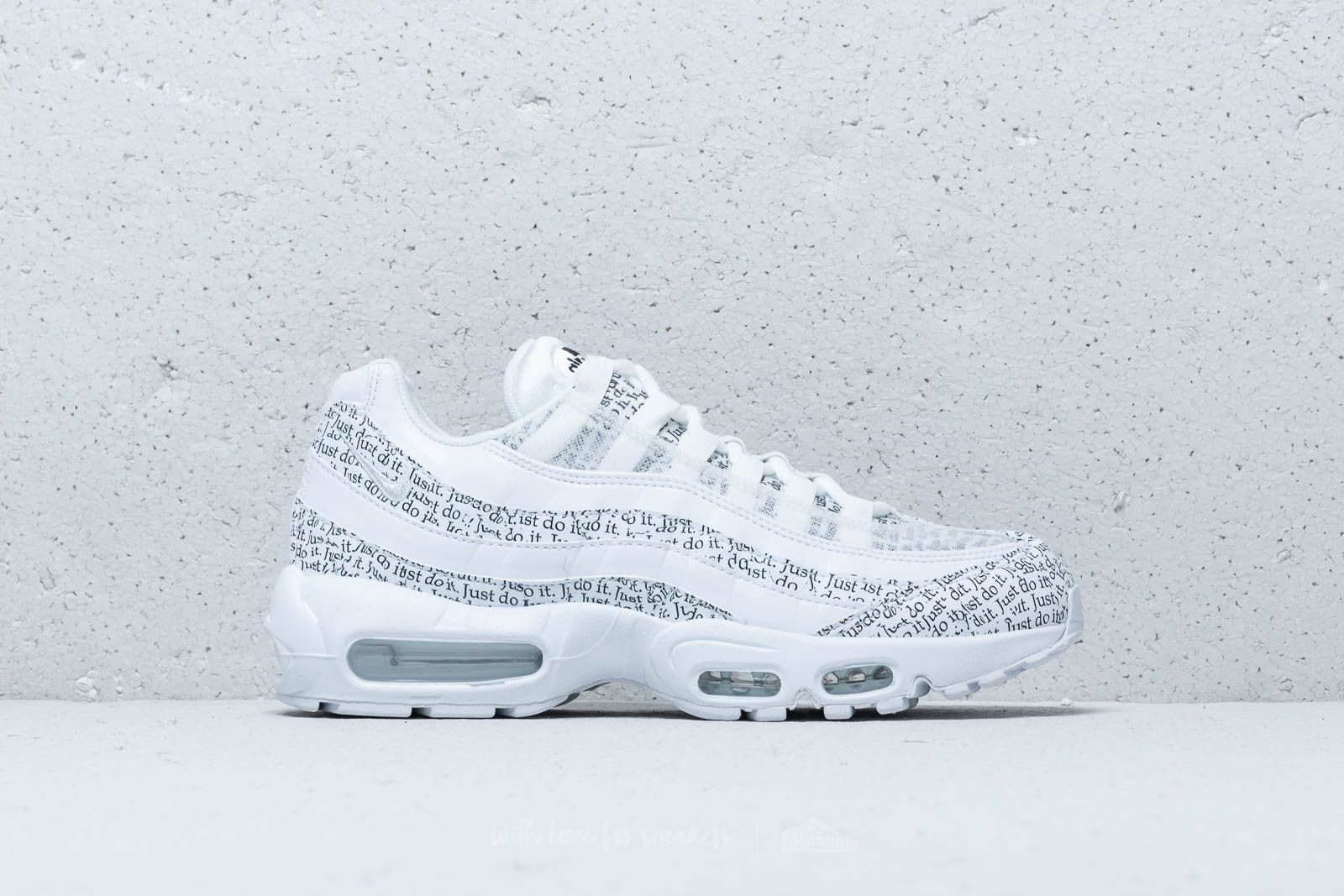 detailed look 37fe0 70791 Nike Air Max 95 SE White White-White-Black at a great price