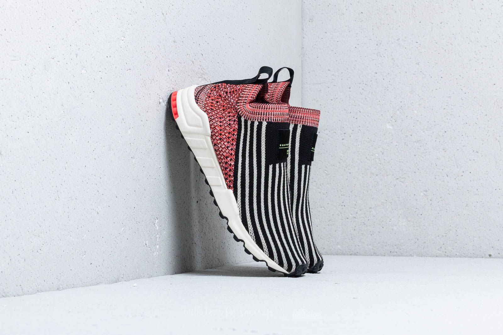 new style e3be7 8e41f adidas EQT Support Sock Primeknit W Core Black/ Clear Brown ...
