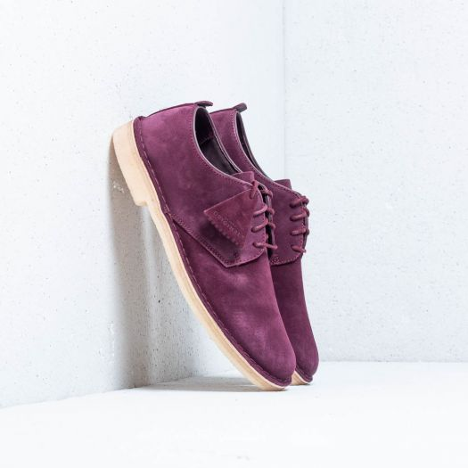 Clarks Original Desert London Bordeaux | Footshop