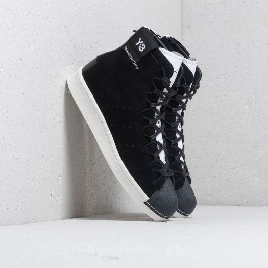 Y-3 Super High Black/ Ftw White/ Core White