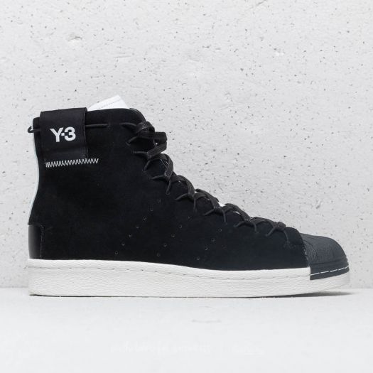 Y-3 Super high Black White CG6233