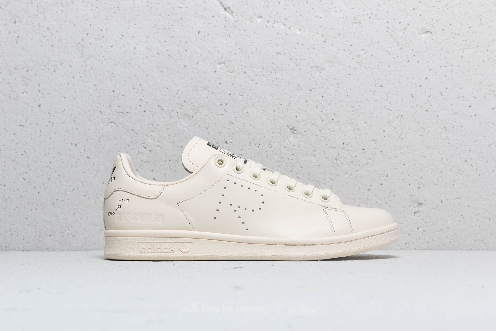 huge discount b9718 af748 adidas x Raf Simons Stan Smith Cream White  Clear Brown  Ftw White at a