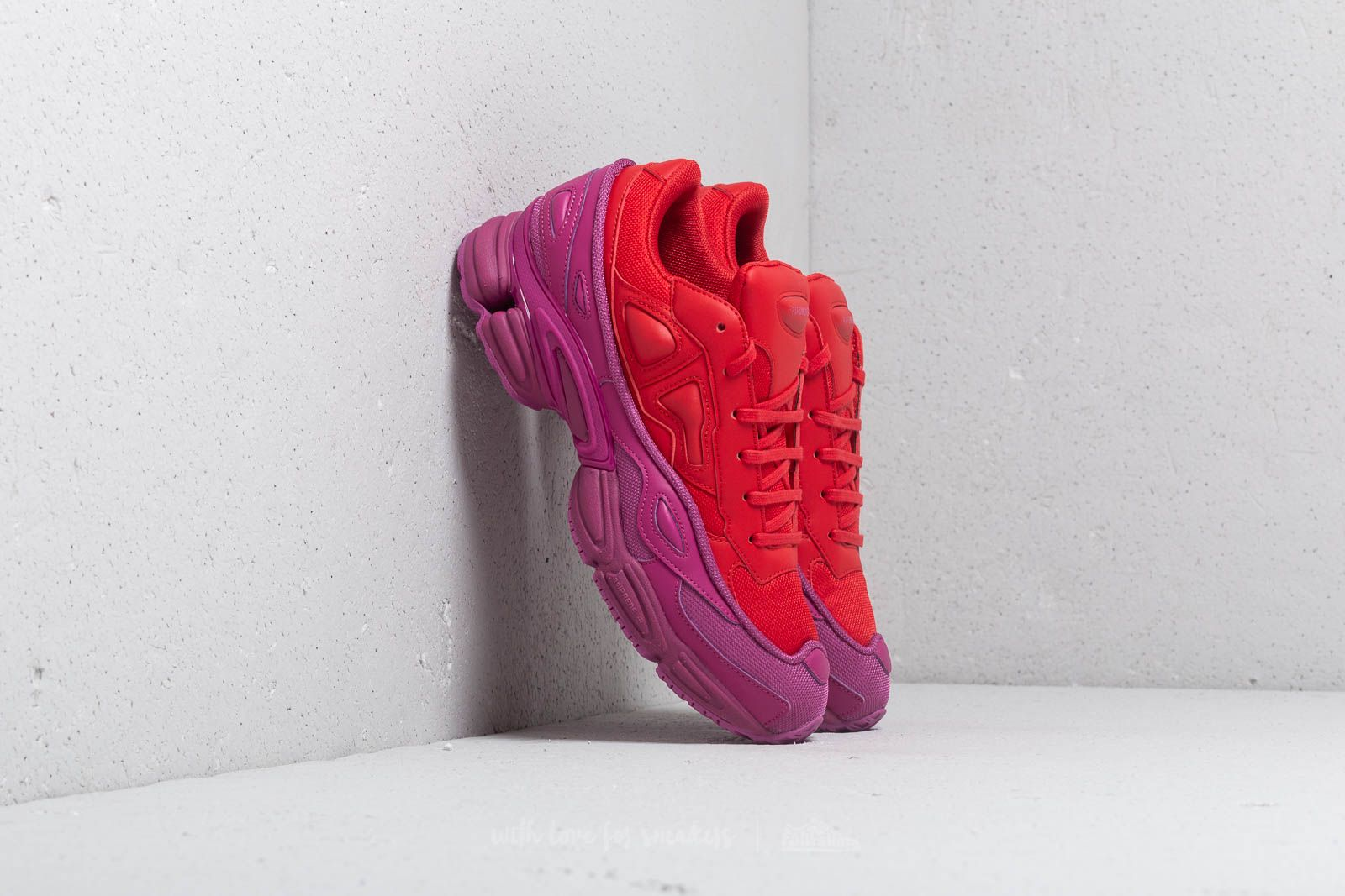 64a85bf99 adidas x Raf Simons Ozweego Glory/ Collegiate Red/ Collegiate Red at a  great price