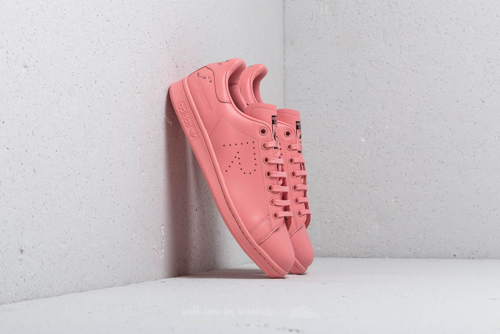 adidas stan smith x raf simons rose