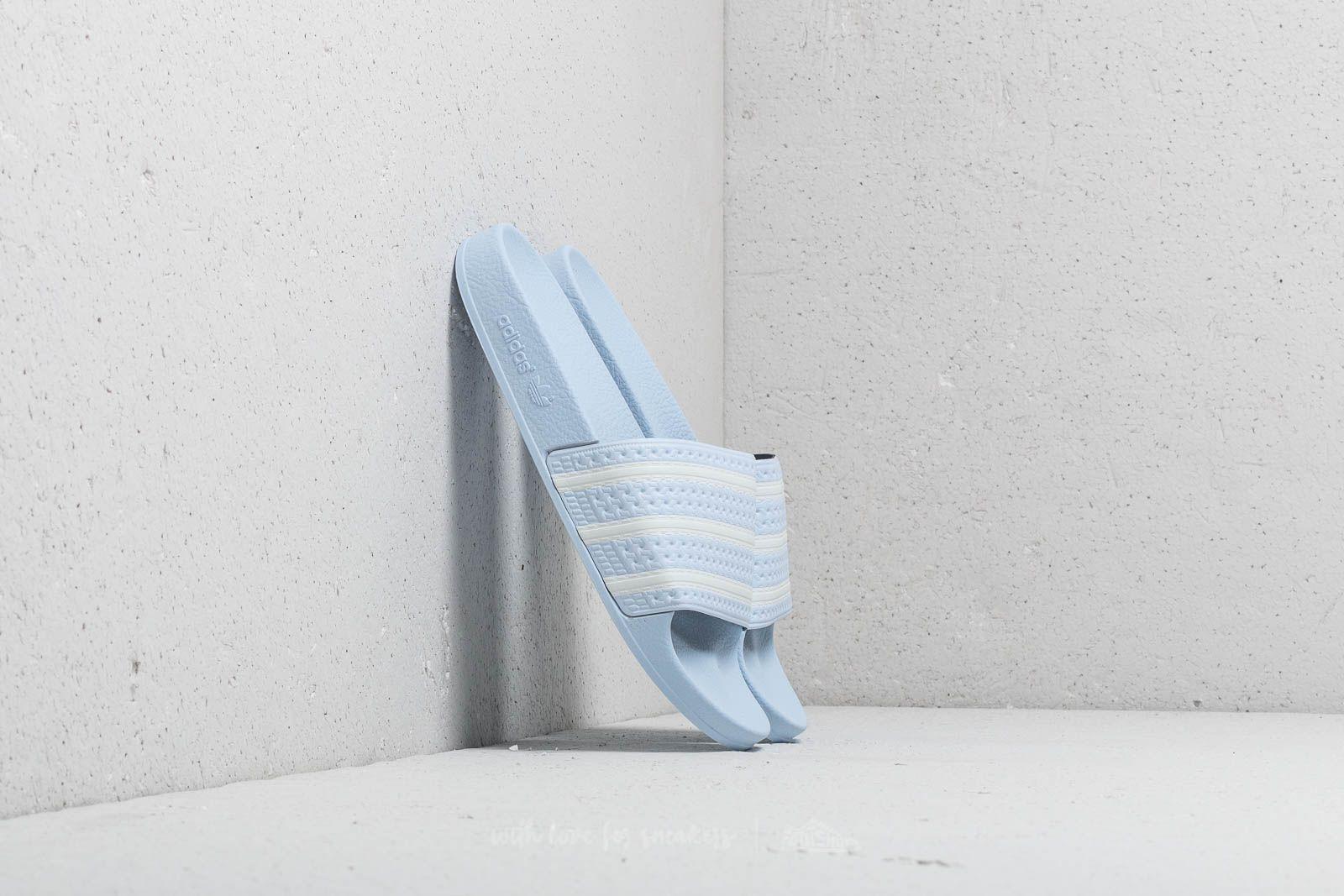 adidas Adilette Aero Blue  Ftw White  Aero Blue at a great price 40 € 4b087ca55