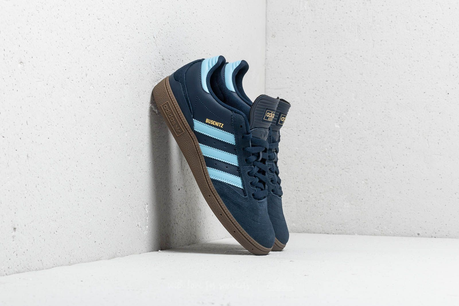 adidas Busenitz Core Navy  Clear Blue  Gum 5 at a great price £75 9f2e377ae