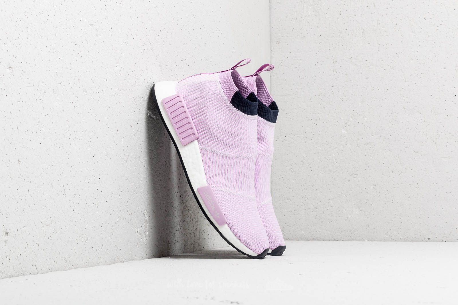 adidas NMD_CS1 Primeknit W Clear Lilac/ Clear Lilac/ Legend Ink at a great price $151 buy at Footshop