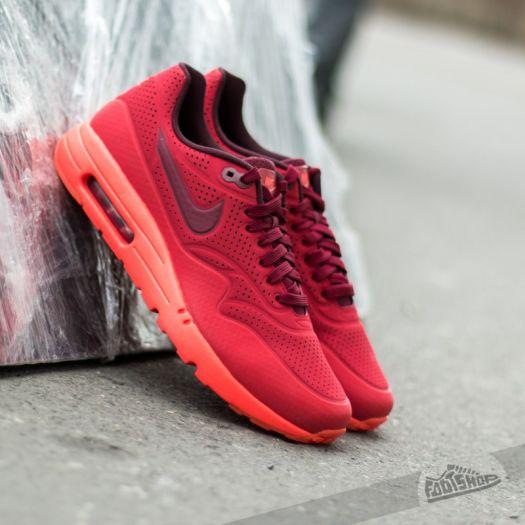 Nike Air Max 1 Ultra Moire Gym RedTeam RedUniversity Red