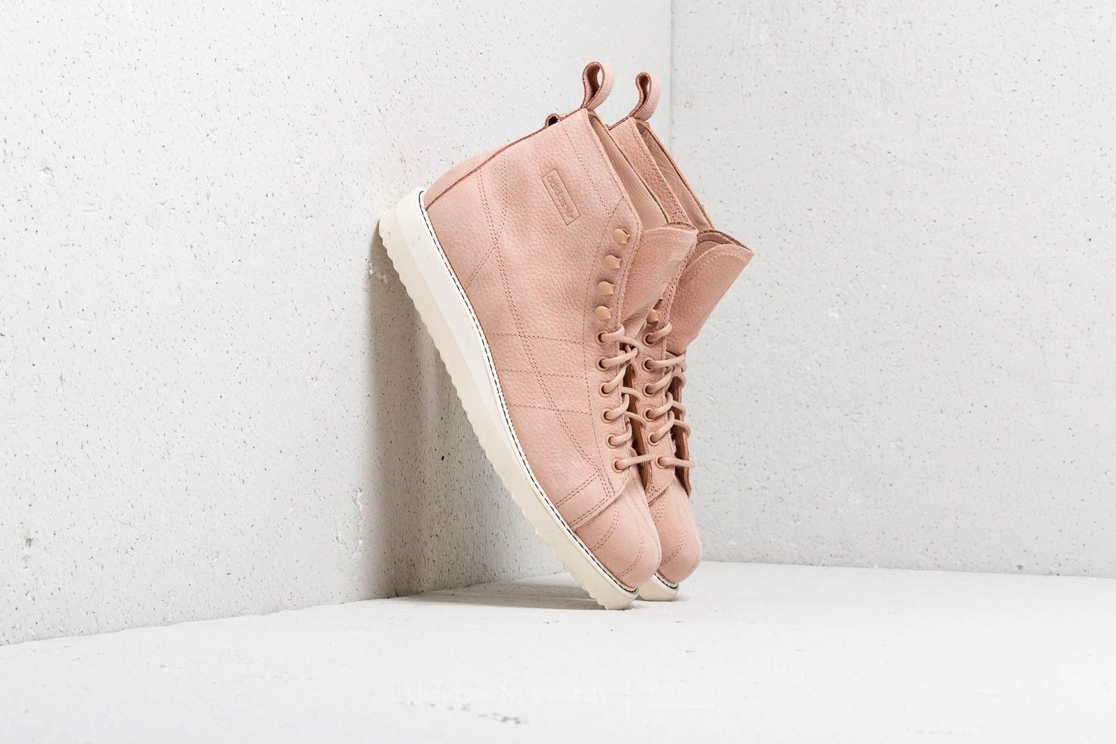 Dámské tenisky a boty adidas Superstar Boot W Ash Pearl/ Ash Pearl/ Off White