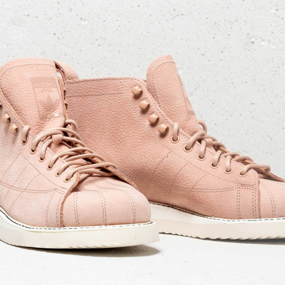 adidas Superstar Boot W Ash Pearl/ Ash Pearl/ Off White, Pink