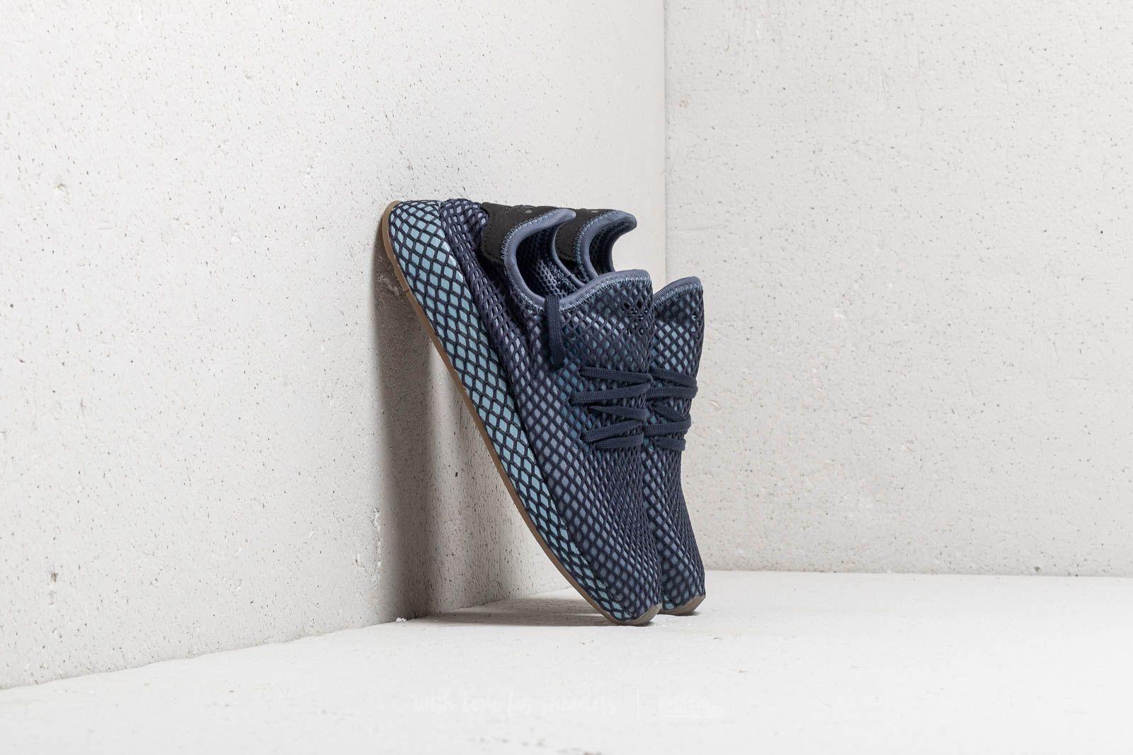 shoes adidas Deerupt Runner Dark Blue