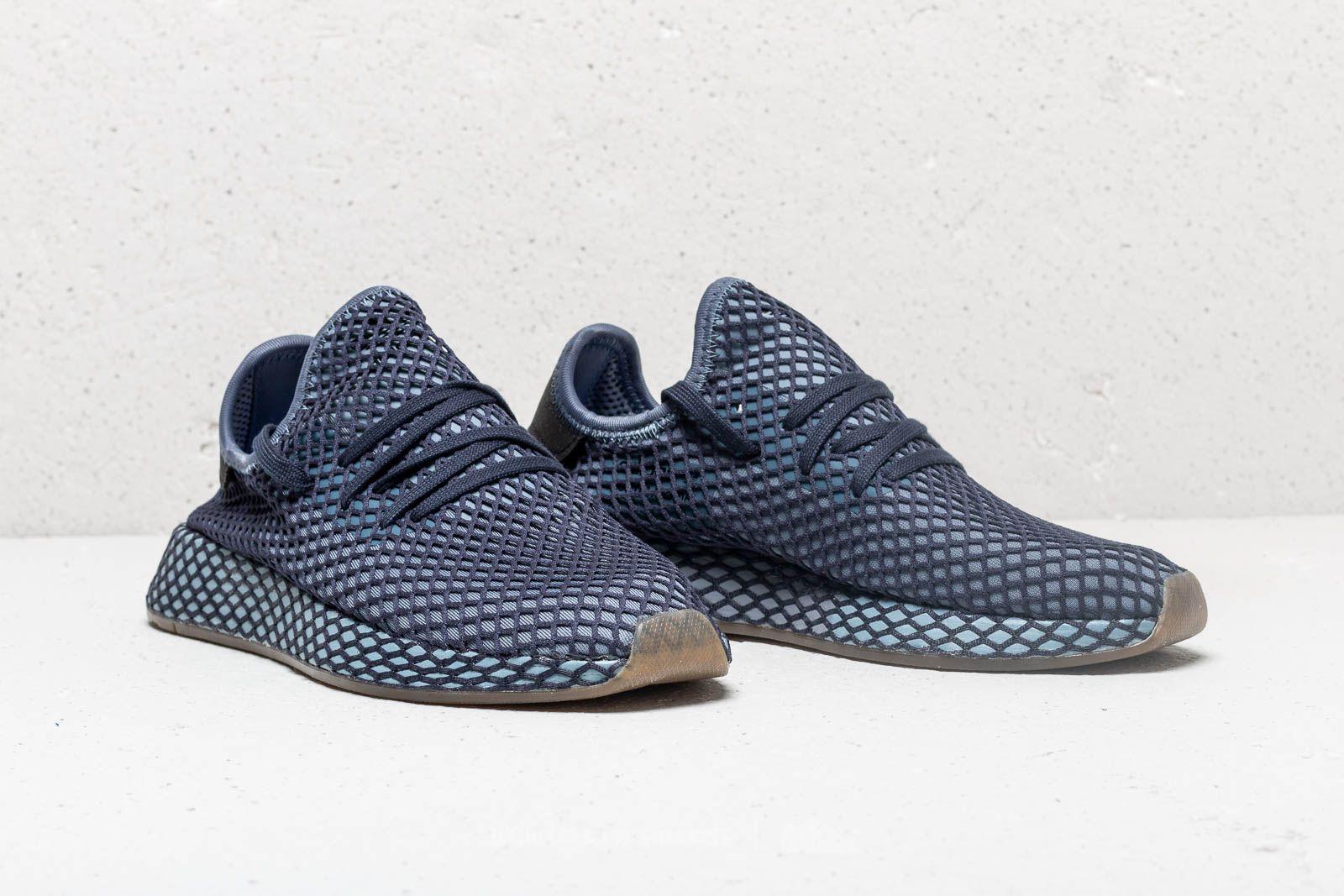 the best attitude 35c1c 582ce adidas Deerupt Runner Dark Blue Dark Blue Ash Blue za skvelú cenu 99 €