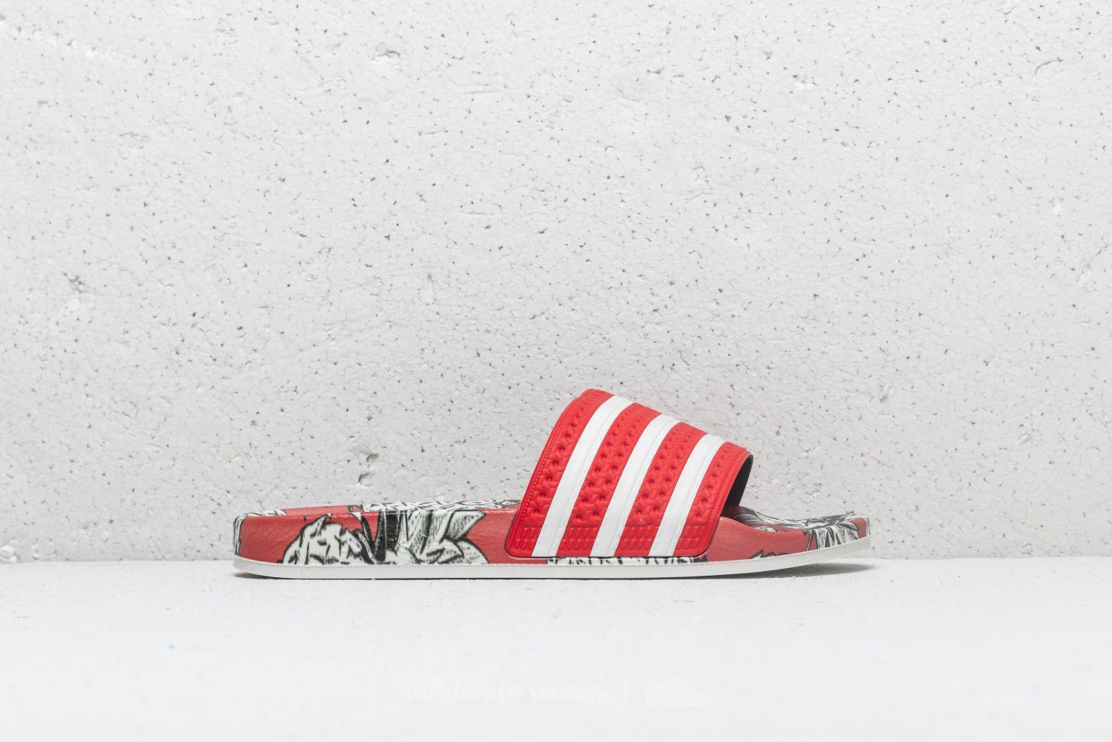 new product bacfc 7ae54 adidas Adilette W Scarlet Off White Scarlet W super cenie 219 zł kupuj na