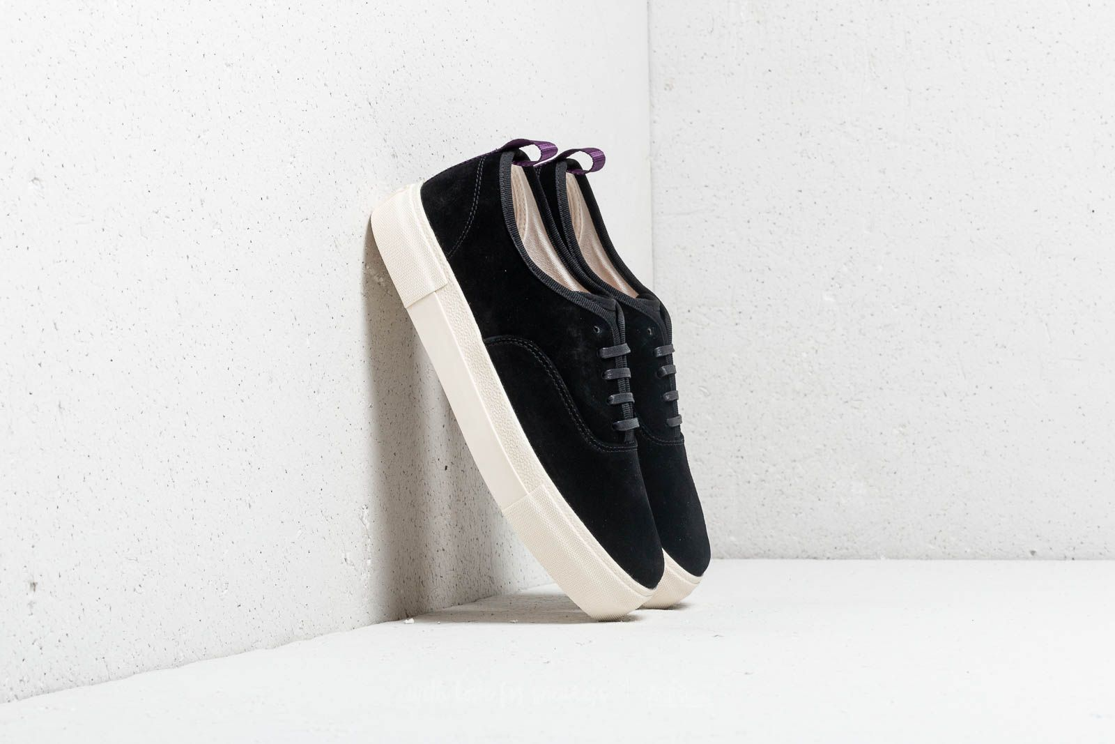 Men's shoes Eytys Mother Suede Black