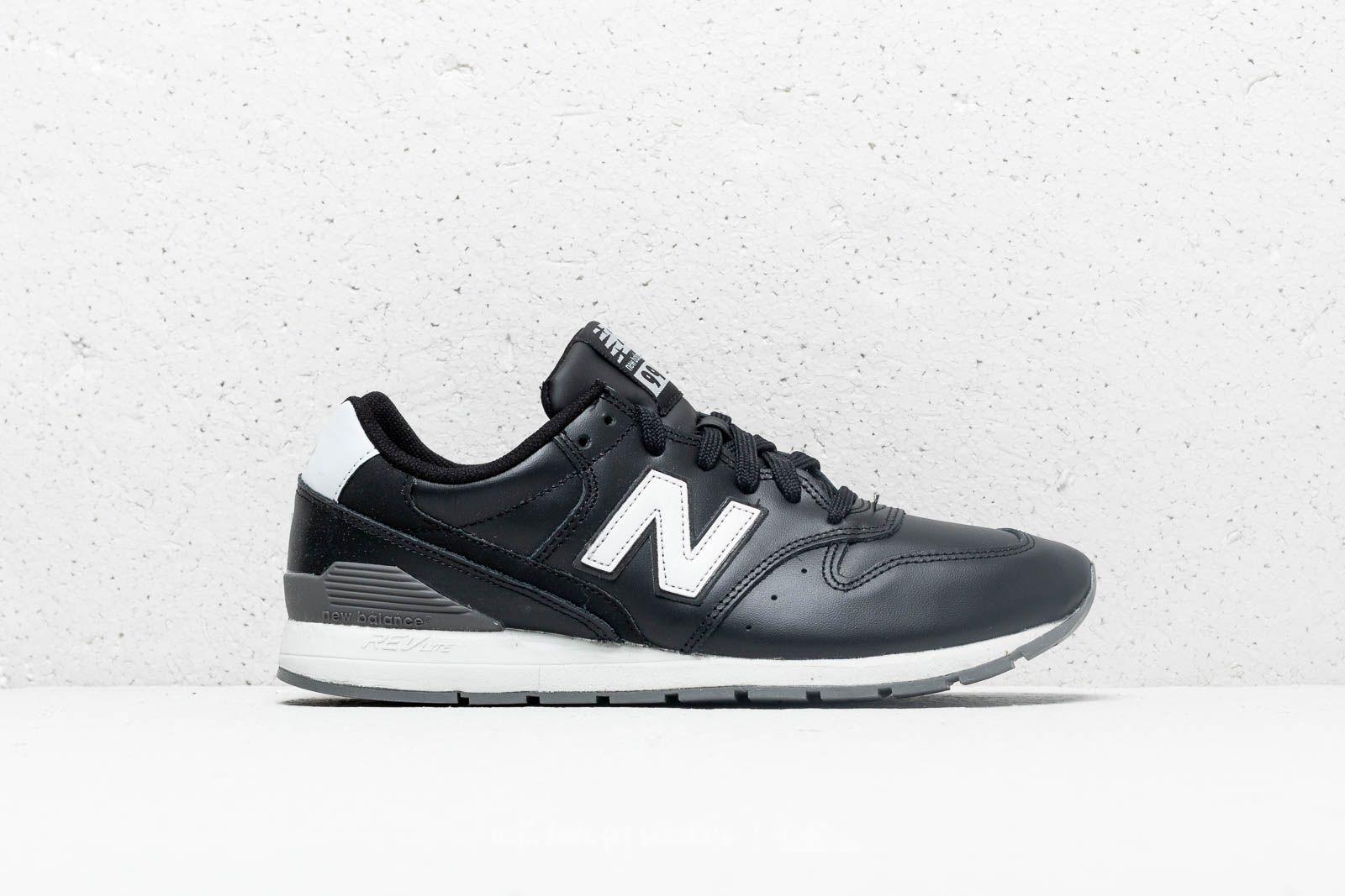 new balance 996 black and white