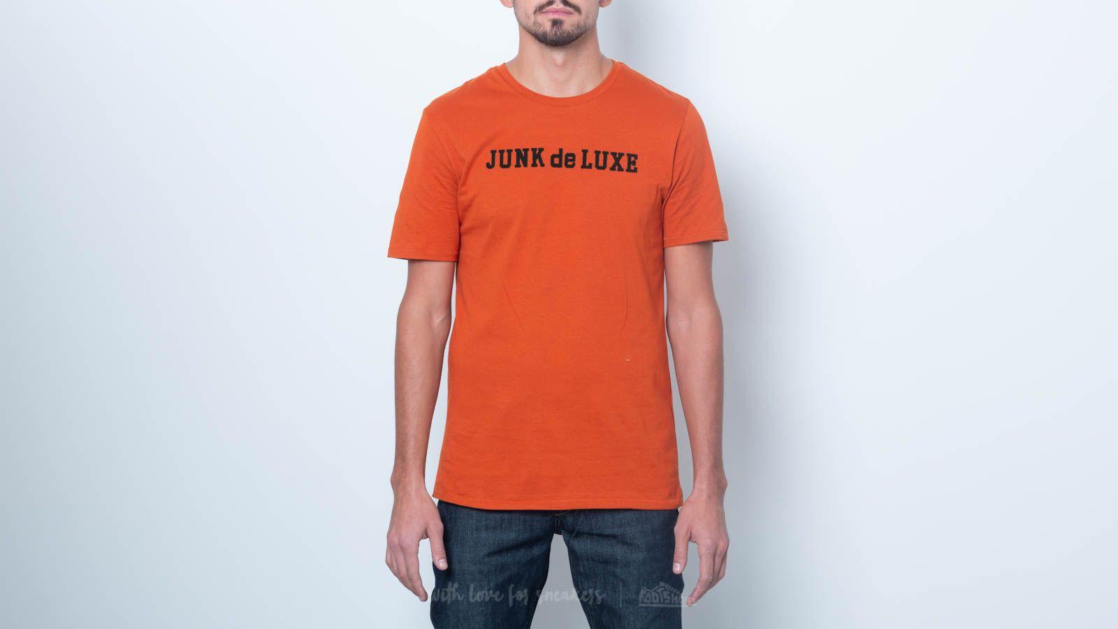 Junk de Luxe Jochem Tee Dark Orange za skvelú cenu 24 € kúpite na Footshop.sk