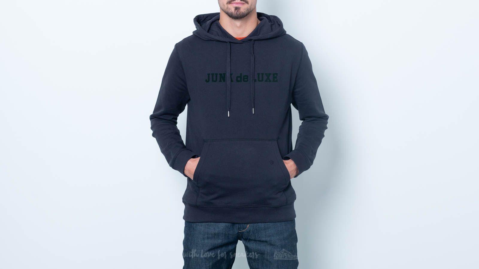 Junk de Luxe Algis Hoodie Black za skvělou cenu 1 400 Kč koupíte na Footshop.cz
