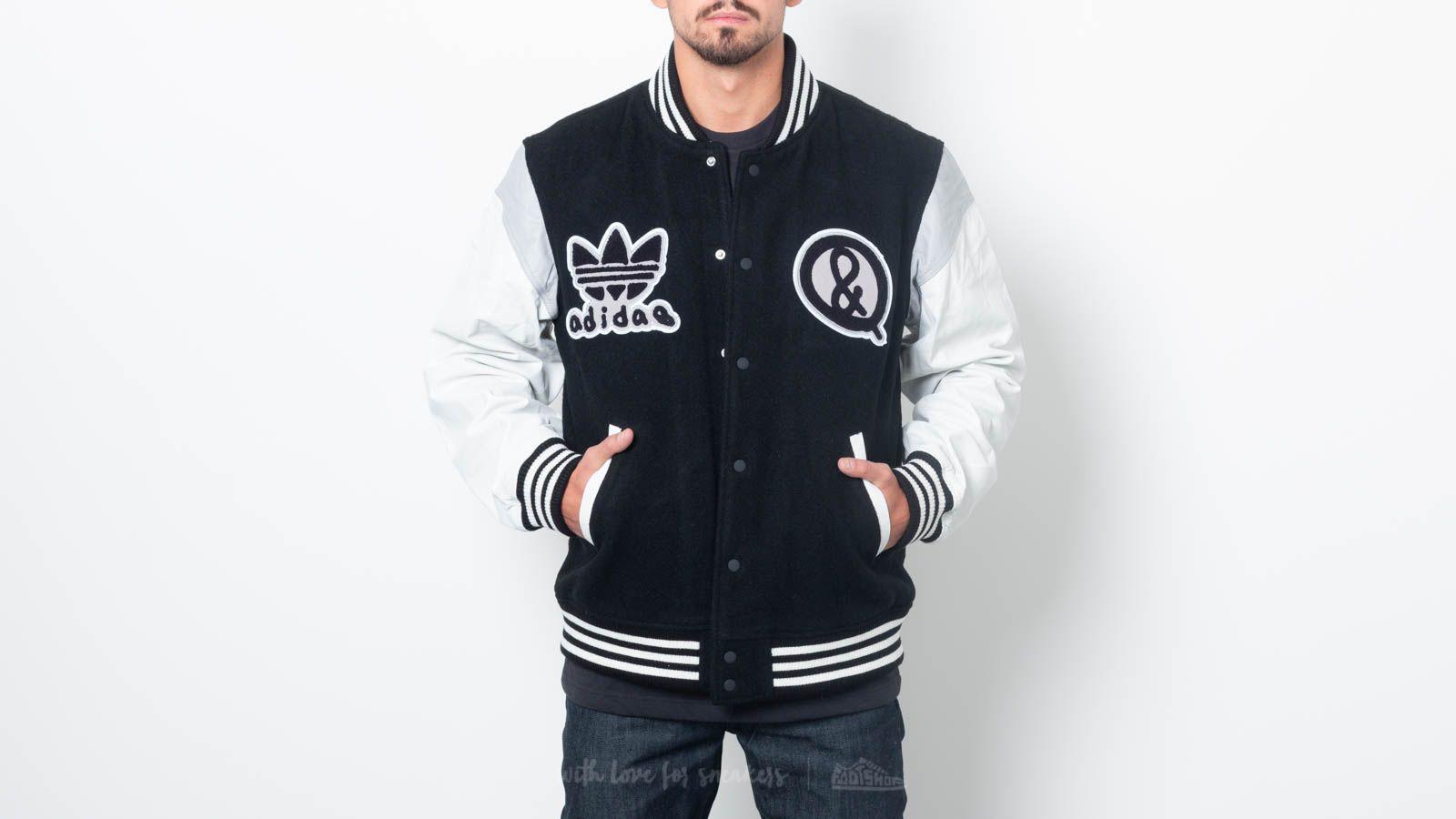 adidas x United Arrows Sons Varsity Jacket Black/ White za skvělou cenu 7 190 Kč koupíte na Footshop.cz
