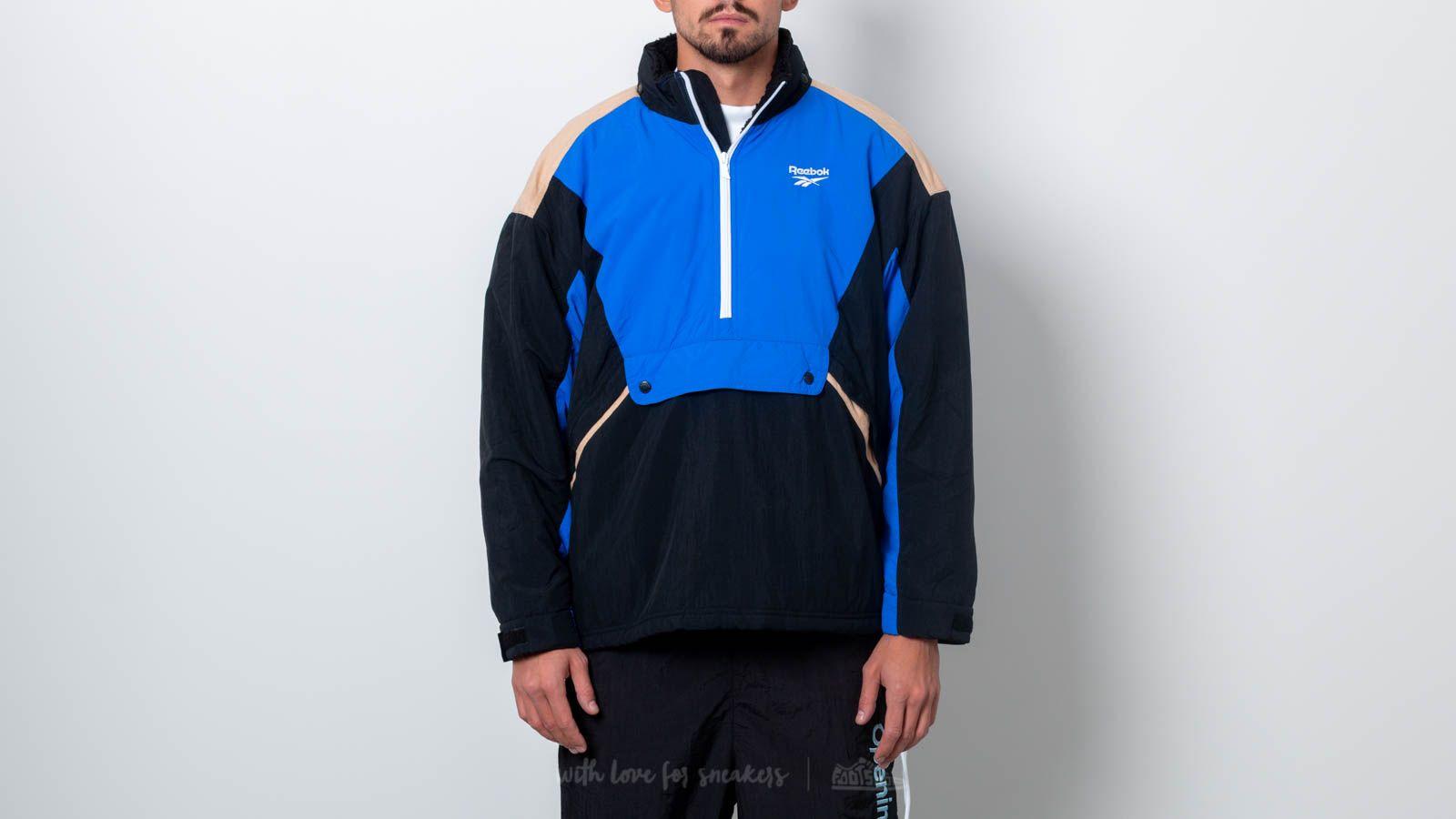 21605a8b61d Reebok Classics Vector Unisex Anorak Jacket Black  Blue at a great price  £127 buy