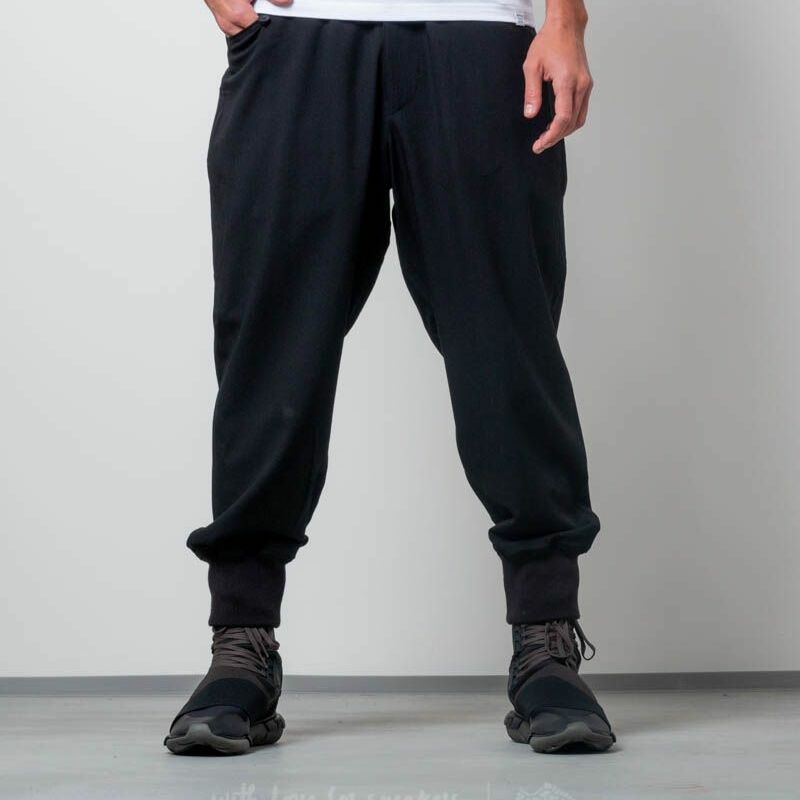 Y3 Quilted Casual Pants Black