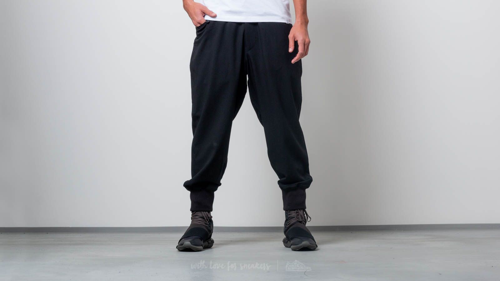 Y-3 Quilted Casual Pants Black at a great price $409 buy at Footshop