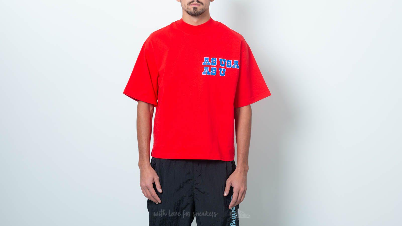 Reebok x Pyer Moss Logo Tee Red za skvělou cenu 1 070 Kč koupíte na Footshop.cz