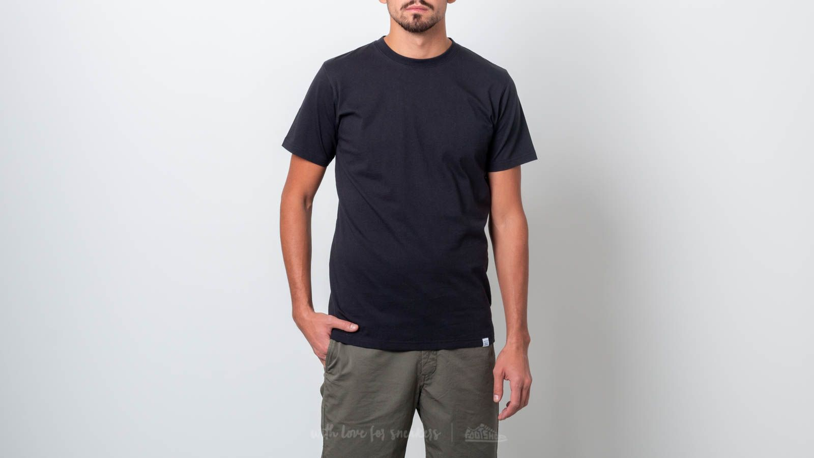 Norse Projects Niels Standard Shortsleeve Tee Black
