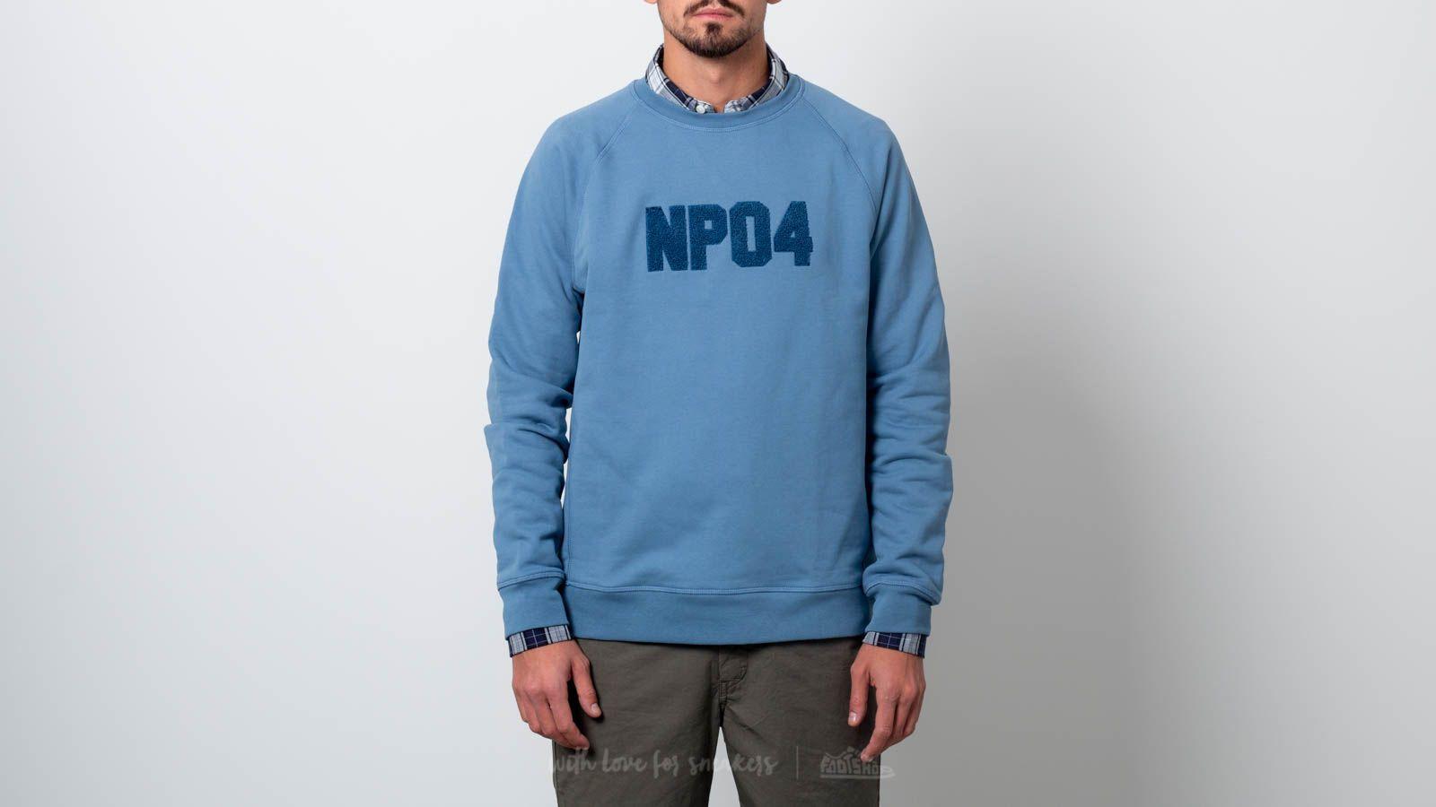 Norse Projects Ketel Classic Towelling Logo Sweatshirt Cali Blue za skvelú cenu 74 € kúpite na Footshop.sk