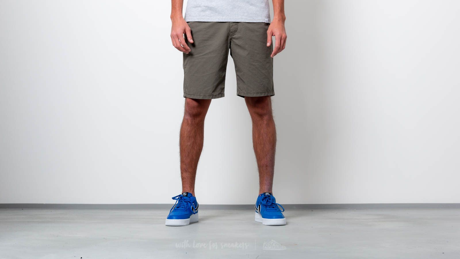 ead6e38e379 Norse Projects Aros Light Twill Shorts Dried Olive | Footshop