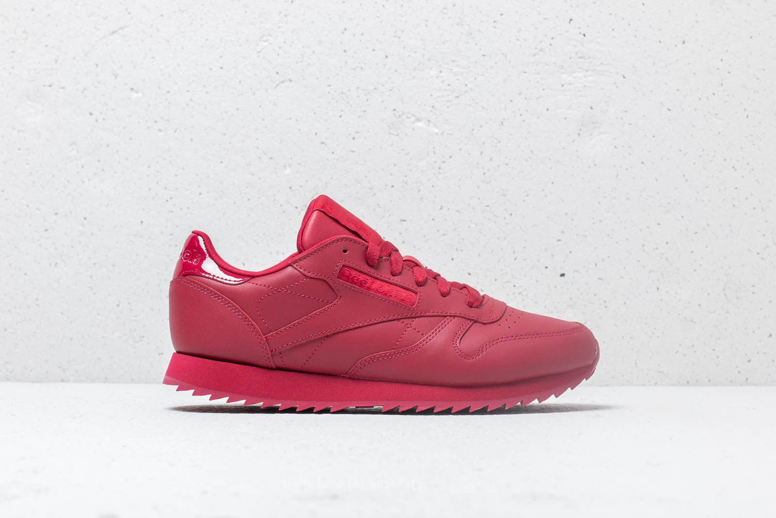 aef8022e130 Reebok CL Leather Ripple W Cranberry Red at a great price £78 buy at  Footshop
