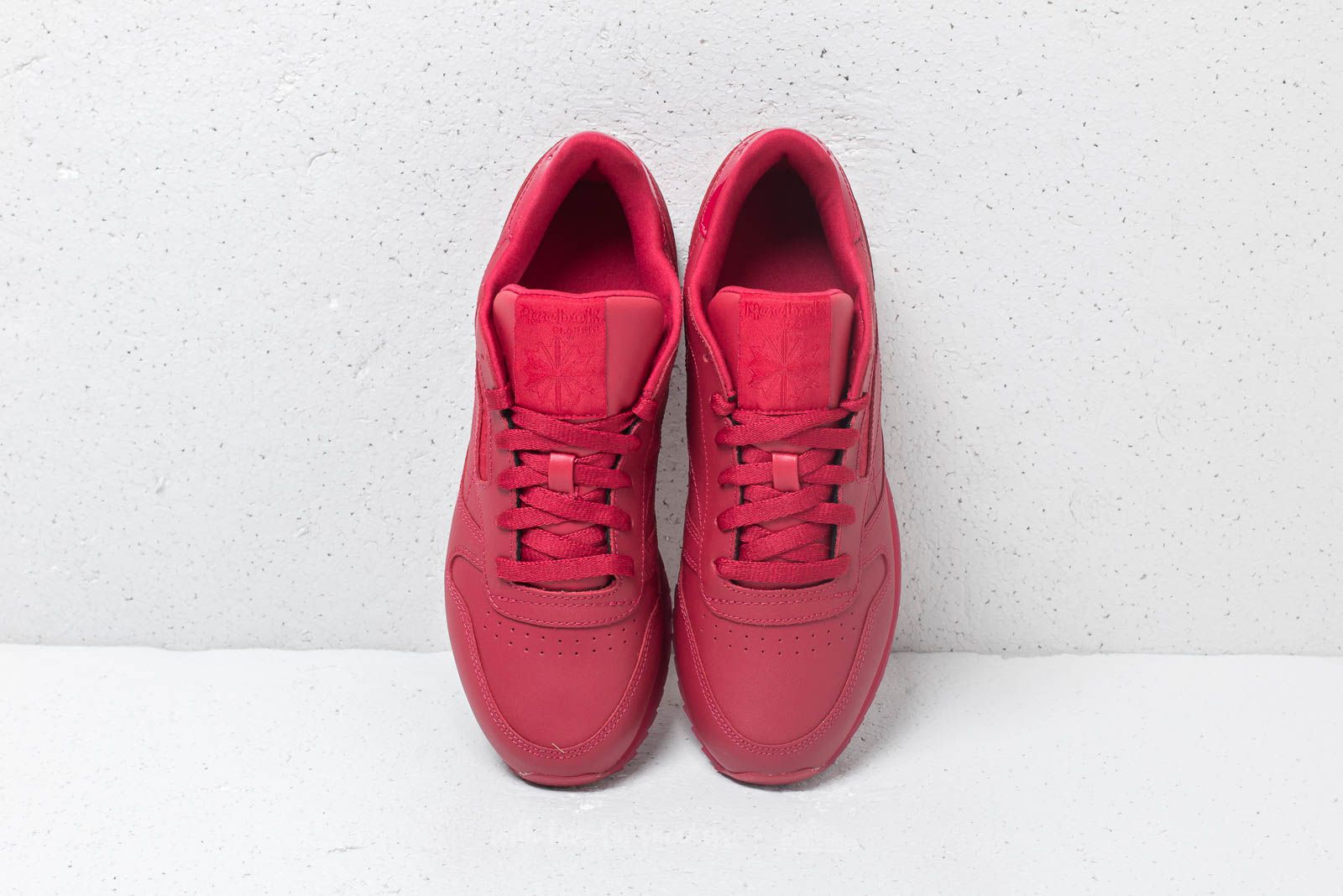 fbbcb1e5c8b471 Reebok CL Leather Ripple W Cranberry Red at a great price £78 buy at  Footshop