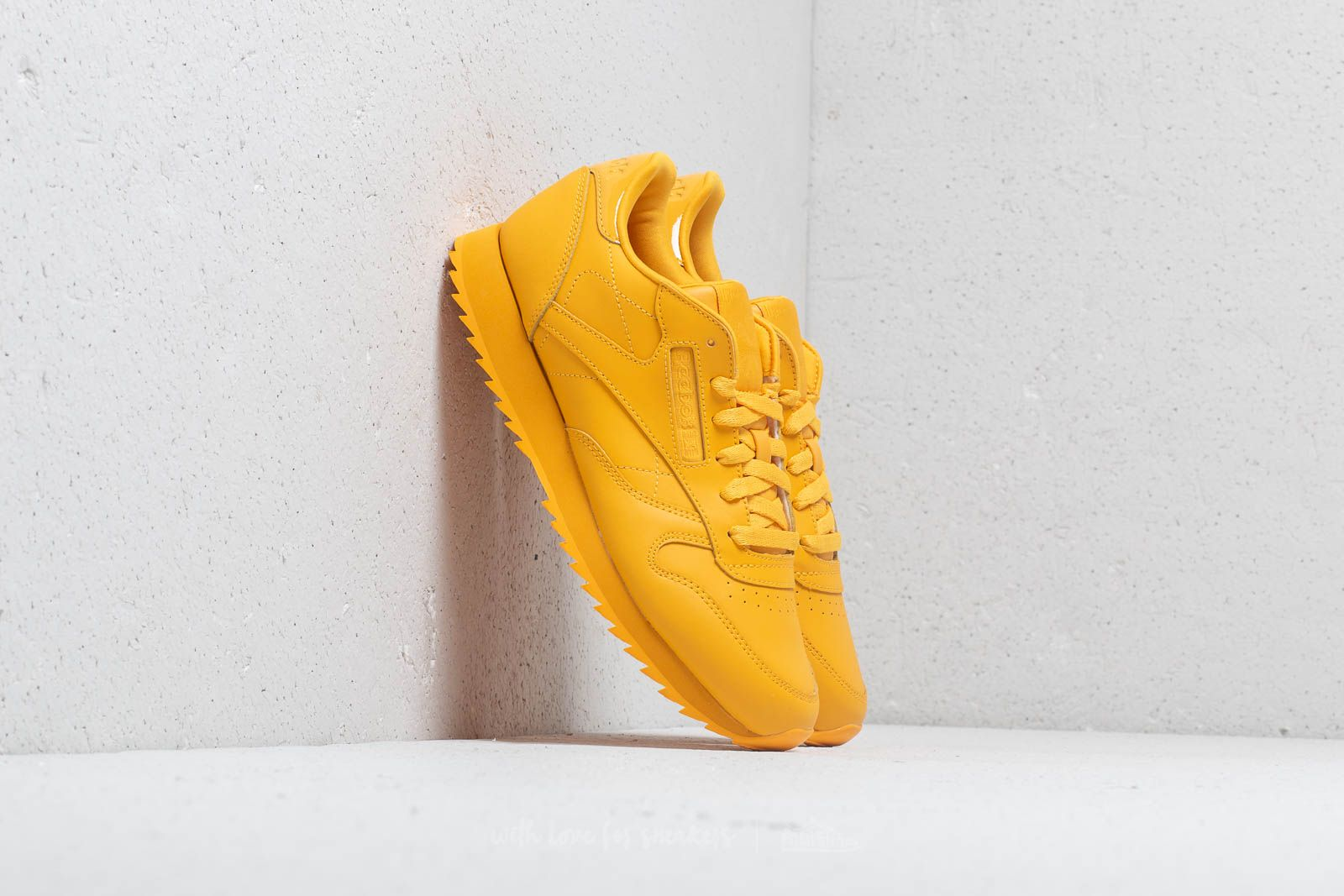 Reebok CL Lthr Ripple Fierce Gold | Footshop