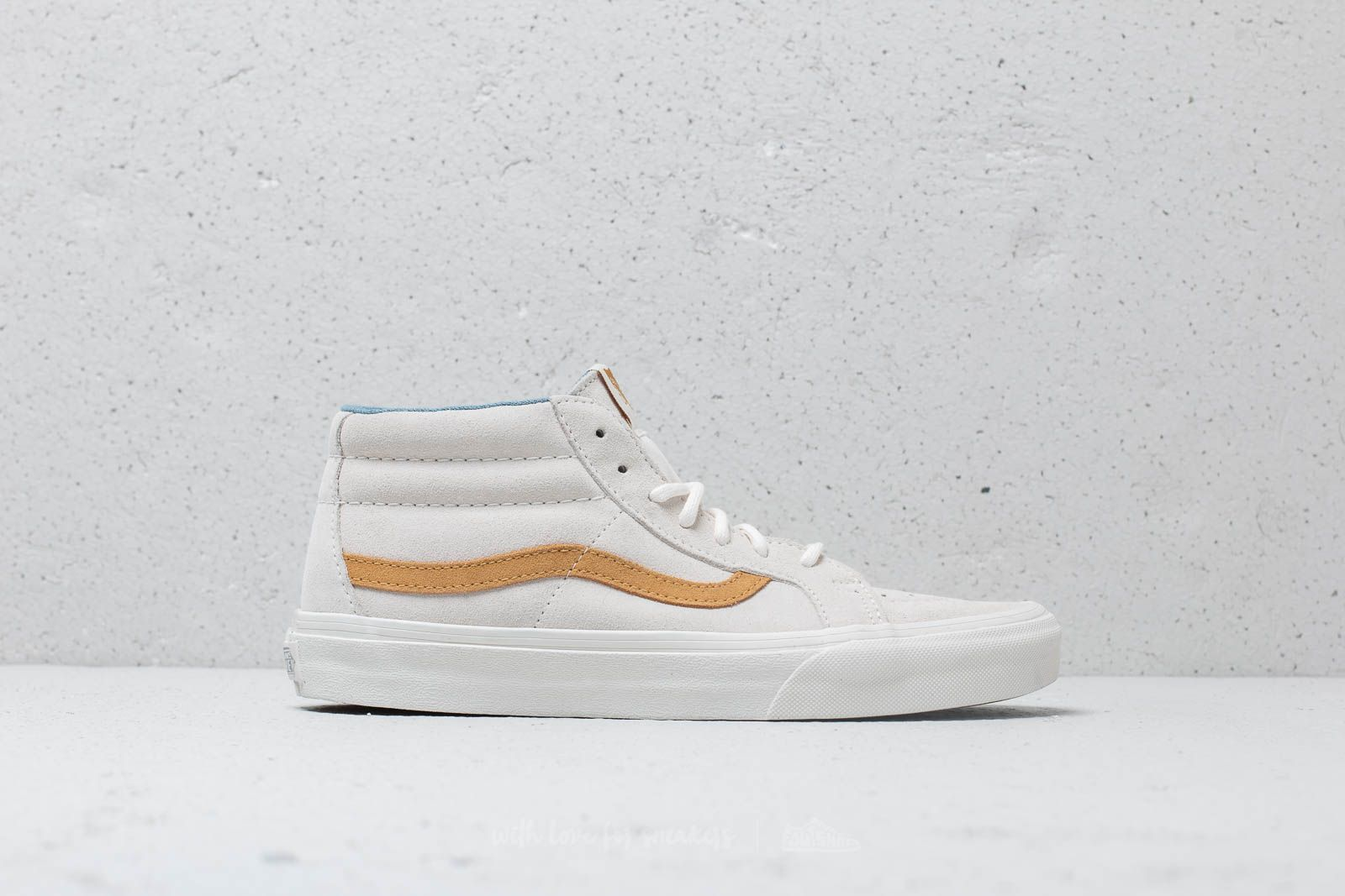 569aa730db Vans SK8-Mid Reissue (Suede) Snow White at a great price £64