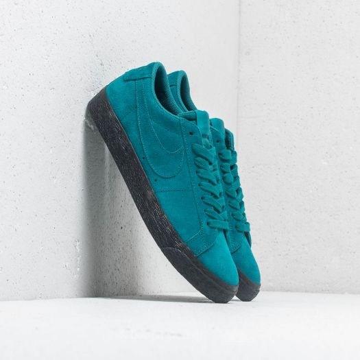 Nike SB Zoom Blazer Low Skate Shoes Geode TealGeode Teal Black