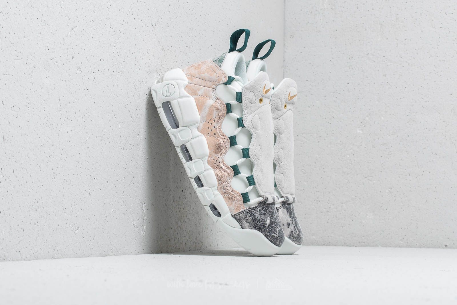 first rate 3b049 1fadb Nike Air More Money W LX Summit White/ Summit White | Footshop