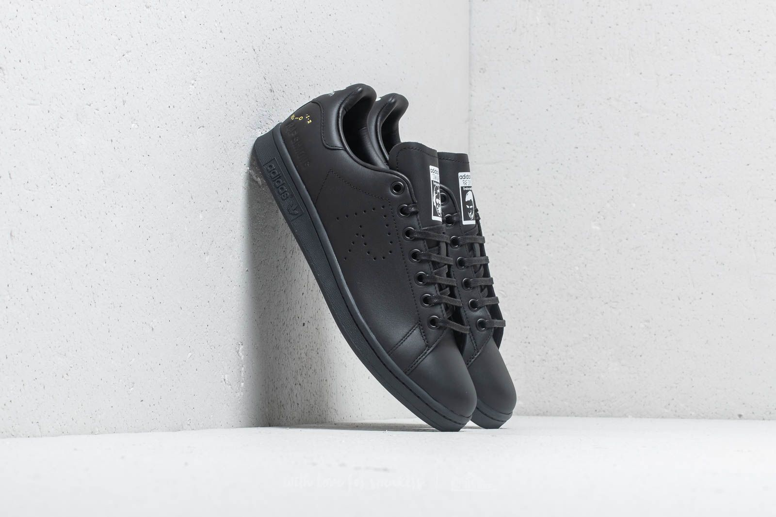 52a1cf99cb2b adidas x Raf Simons Stan Smith Core Black  Dgh Solid Grey  Cream White at
