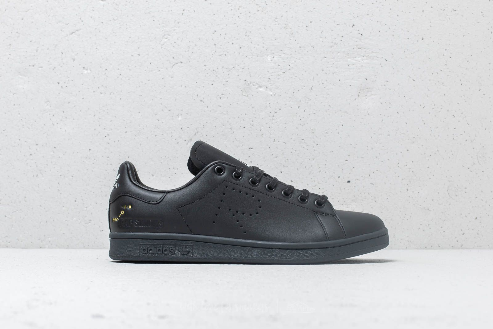 edbb4bab5d2 adidas x Raf Simons Stan Smith Core Black  Dgh Solid Grey  Cream White at