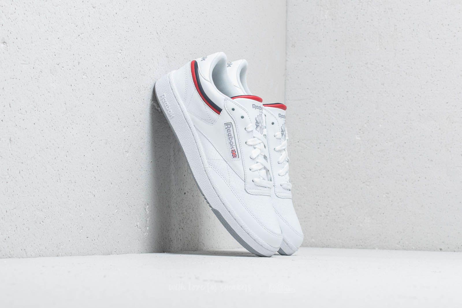 Reebok Club C 85 MU White/ Navy/ Red/ Shadow za skvělou cenu 1 880 Kč koupíte na Footshop.cz