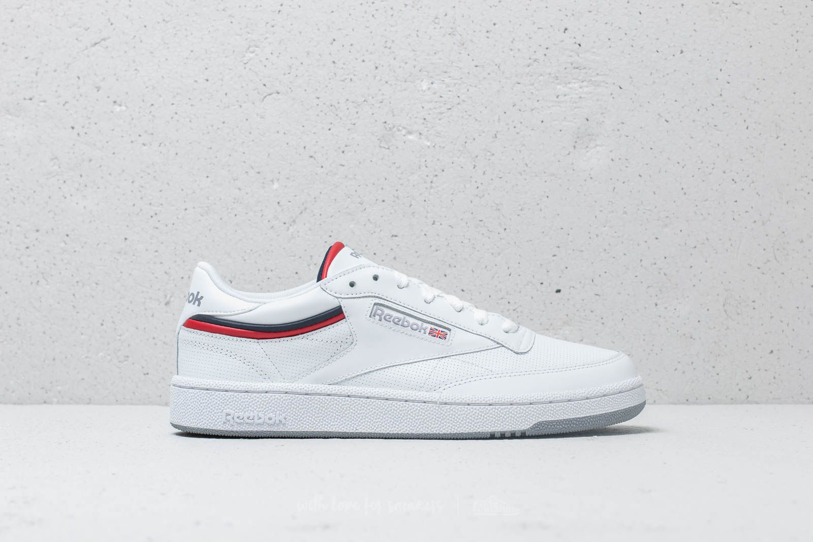 c92fdba3179 Reebok Club C 85 MU White  Navy  Red  Shadow at a great price